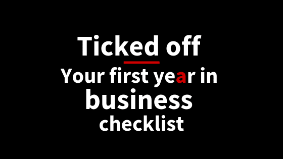 Ticked off: Your first year in business checklist