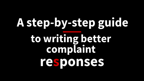 Managing complaints: A step-by-step guide