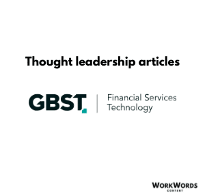Thought leadership | Fintech